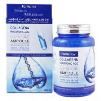 Ампульная сыворотка с коллагеном и гиалуроновой кислотой от FarmStay