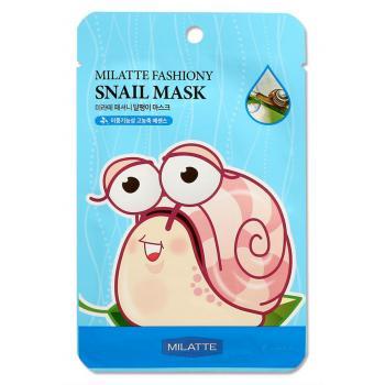 Тканевая  маска с экстрактом слизи улитки от Milatte