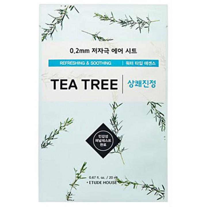 Тканевая маска с экстрактом чайного дерева от Etude House