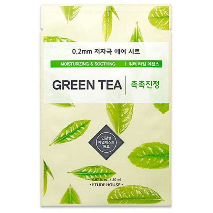 Тканевая маска с экстрактом зеленого чая от Etude House