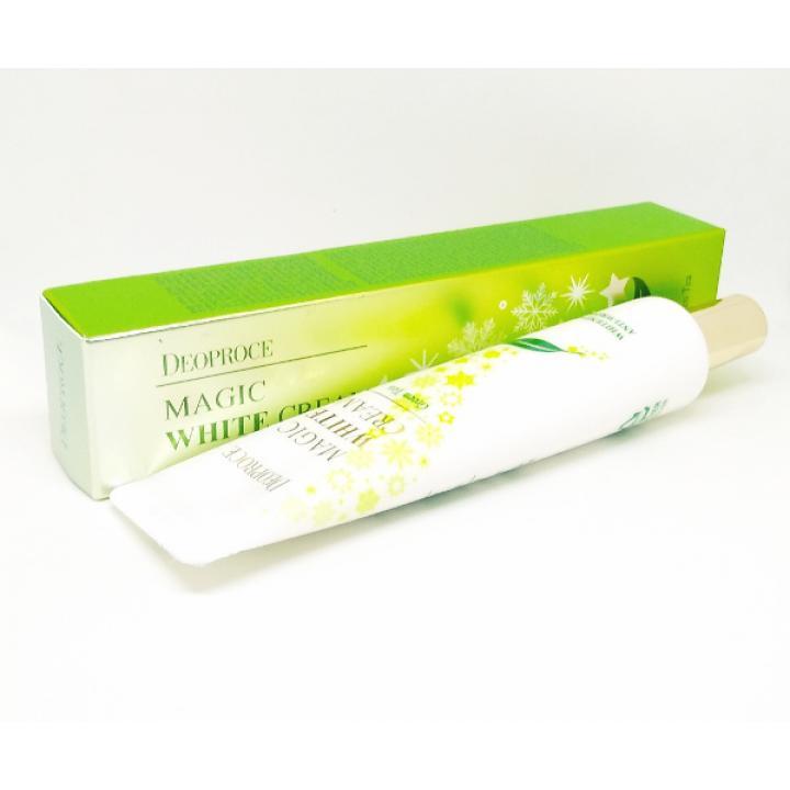 Отбеливающий крем с экстрактом зеленого чая от Deoproce