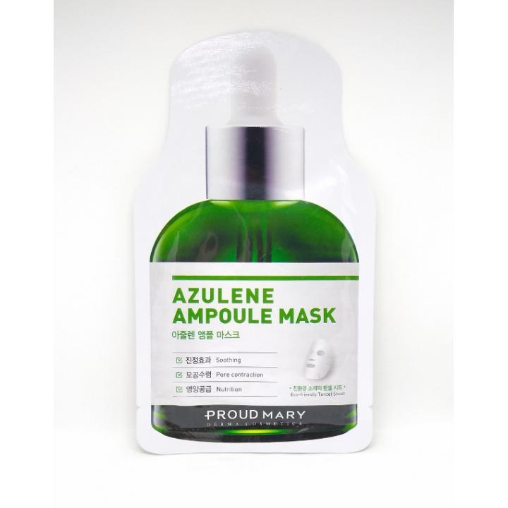 Тканевая маска с азуленом от Proud Mary