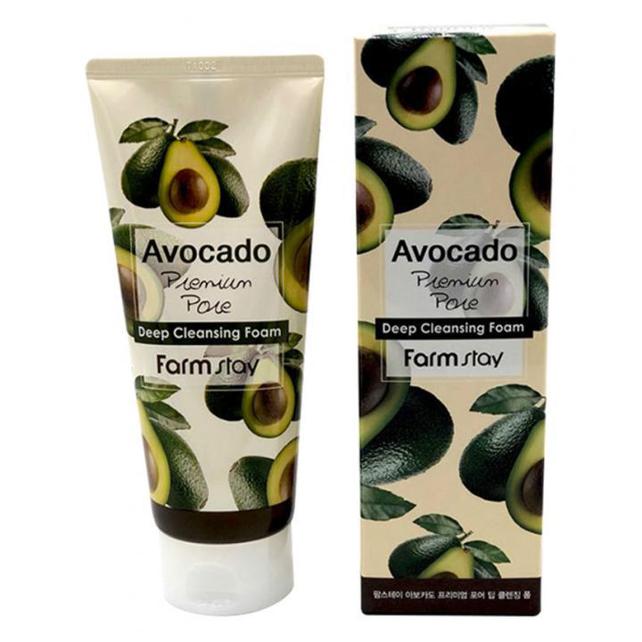 Пенка с экстрактом авокадо от FarmStay