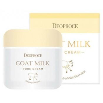 Дневной крем на основе козьего молока от Deoproce