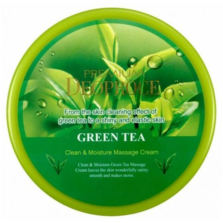 Массажный крем с экстрактом зеленого чая от Deoproce