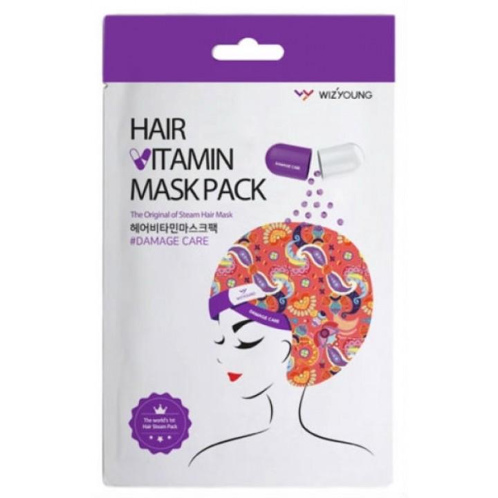 Тканевая маска для поврежденных волос от Wizyoung