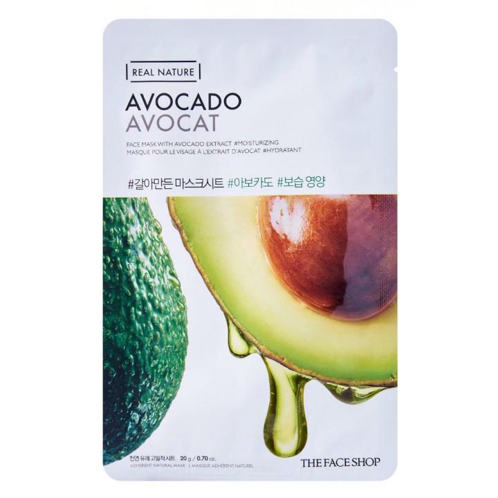 Тканевая маска с экстрактом авокадо от TheFaceShop