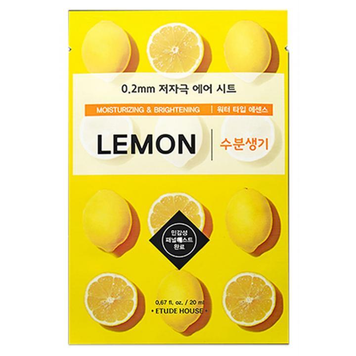 Тканевая маска с экстрактом лимона от Etude House