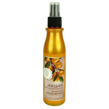 Спрей для волос с золотом и маслом арганы от Welcos