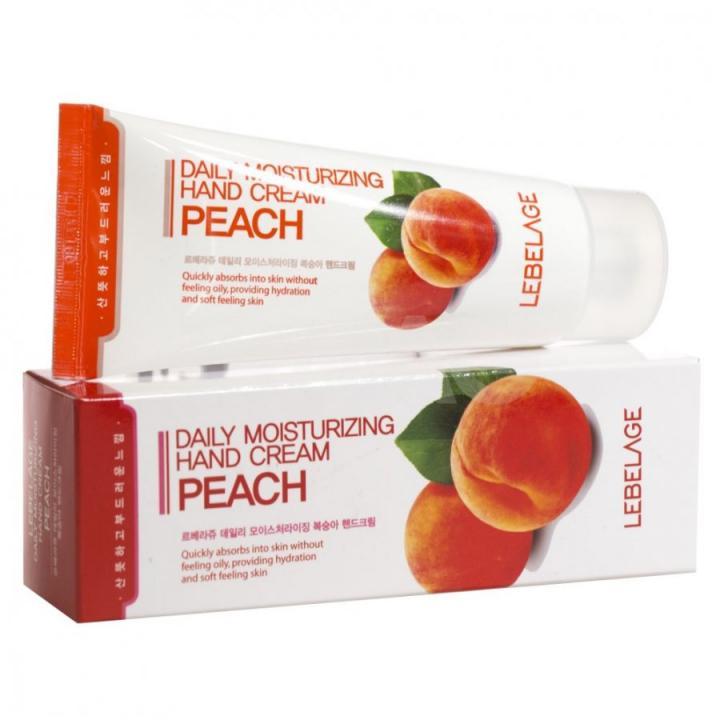 Увлажняющий крем для рук с экстрактом персика от Lebelage