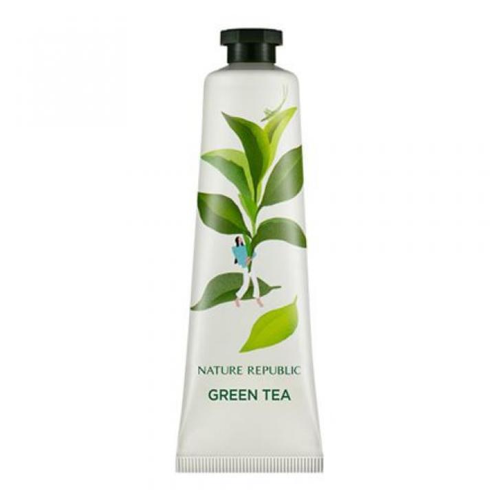 Крем для рук с экстрактом зеленого чая от Nature Republic