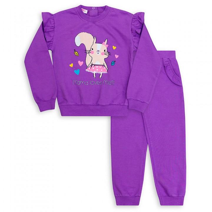 Комплект для девочек, джемпер и брюки (арт.1001889/1)