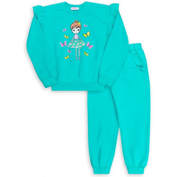 Комплект для девочек, джемпер и брюки (арт.1001889/3)