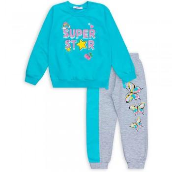 Комплект для девочек, джемпер и брюки (арт.1001894/2)