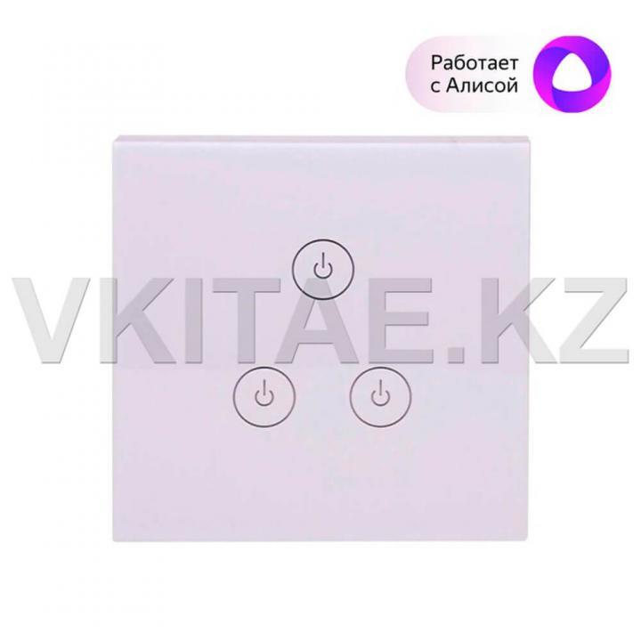 Умный сенсорный настенный выключатель STL-WF086T03