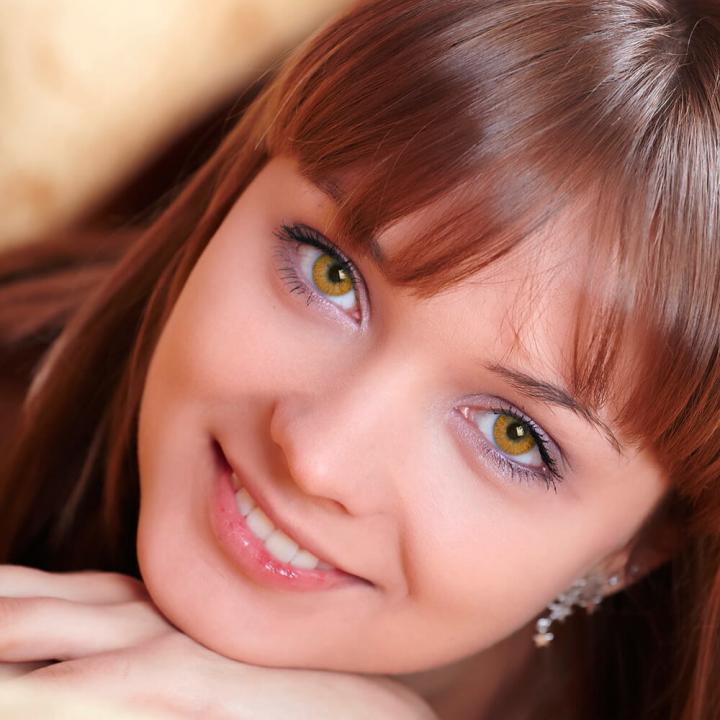 Цветные контактные линзы H 17 Honey