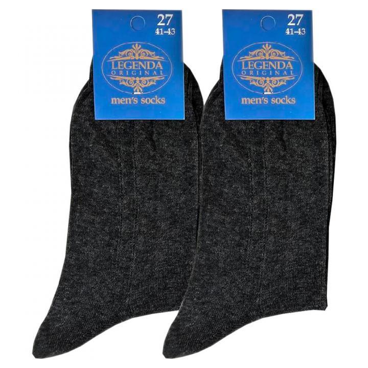 Мужские носки Легенда темно-серые