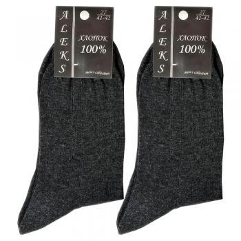 Мужские носки Aleks темно-серые