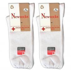 Мужские носки Newsocks Medical белые