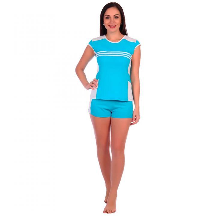 Женский костюм Старт голубой