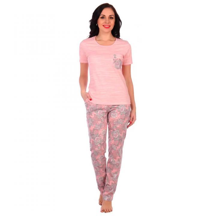 Женский костюм Нежность розовый