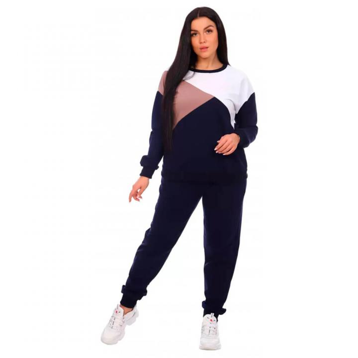 Женский спортивный костюм Дельта синий