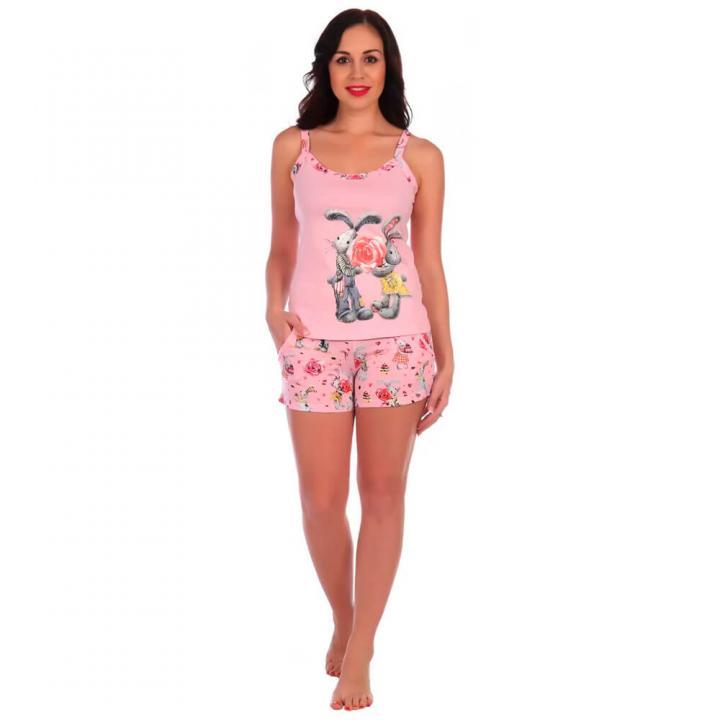 Женская пижама Офелия розовая