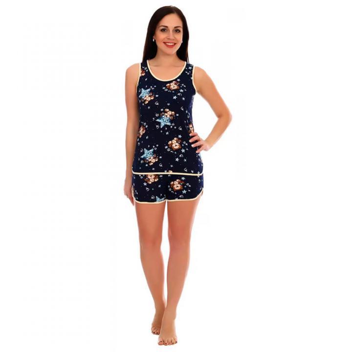 Женская пижама Синди темно-синяя