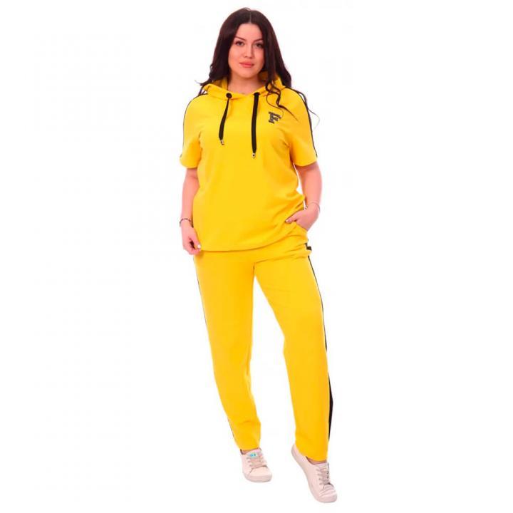 Женский спортивный костюм Фантастика желтый