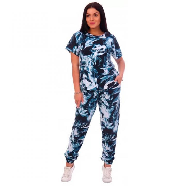 Женский спортивный костюм Дымка голубой