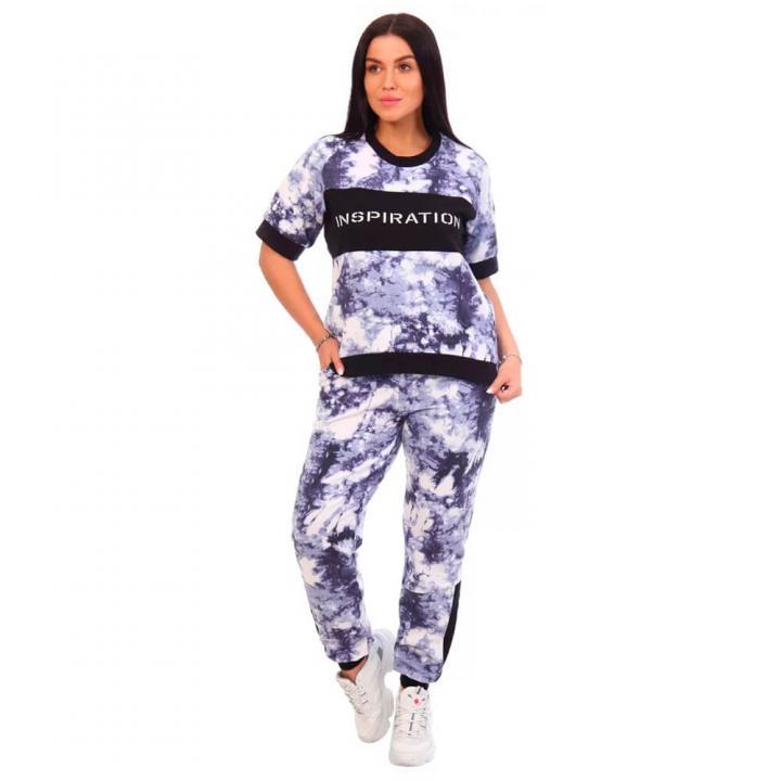 Женский спортивный костюм Меган синий