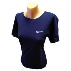 Женская футболка великан темно-синяя