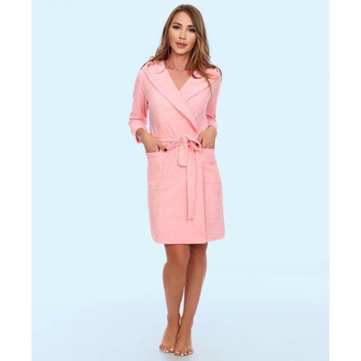 Женский халат Милана розовый