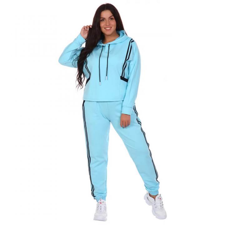 Женский спортивный костюм Комета голубой