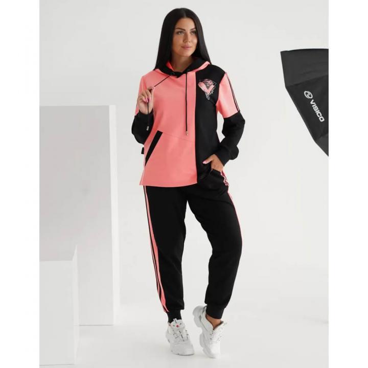 Женский спортивный костюм Неон розовый