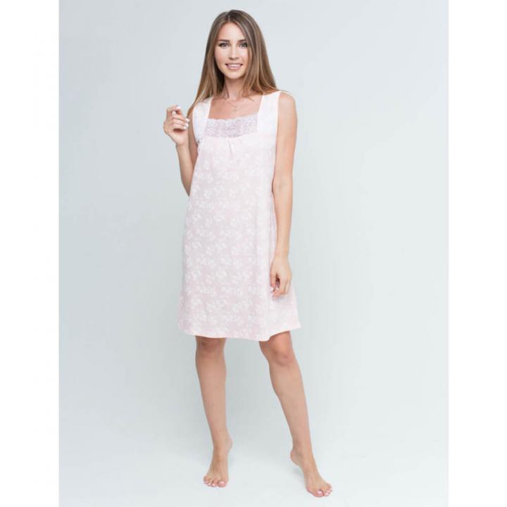 Женская сорочка РОЗА розовая
