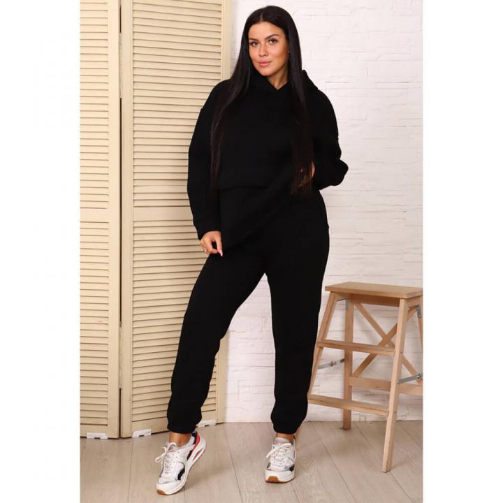 Женский спортивный костюм М-720 черный