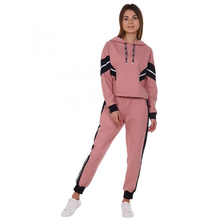 Женский спортивный костюм Краш розовый