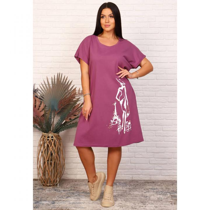 Женская туника М-703 фиолетовый
