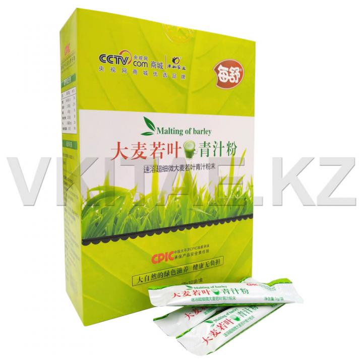 Чай для похудения с соком ячменя