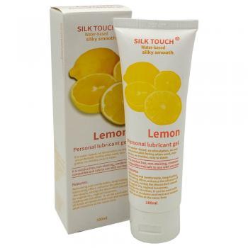 Интимный гель-смазка с запахом лимона