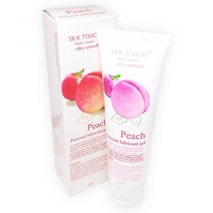 Интимный гель-смазка с запахом персика