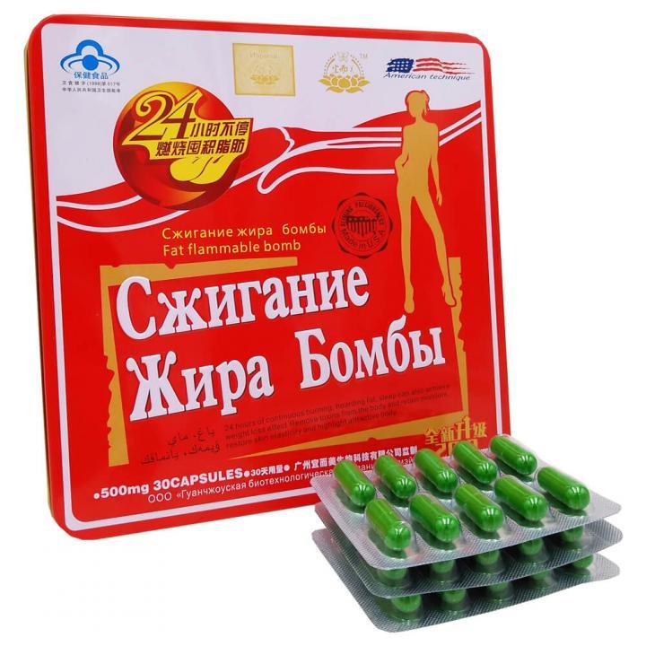 Средство для похудения Красная бомба