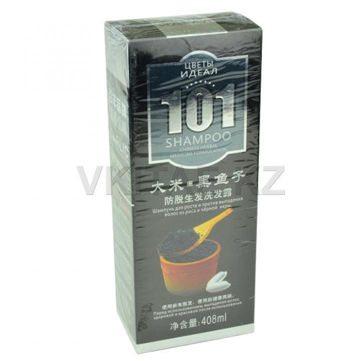 Шампунь 101 с рисом и черной икрой