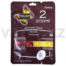 Маска для лица DIZAO антиоксидант клюква