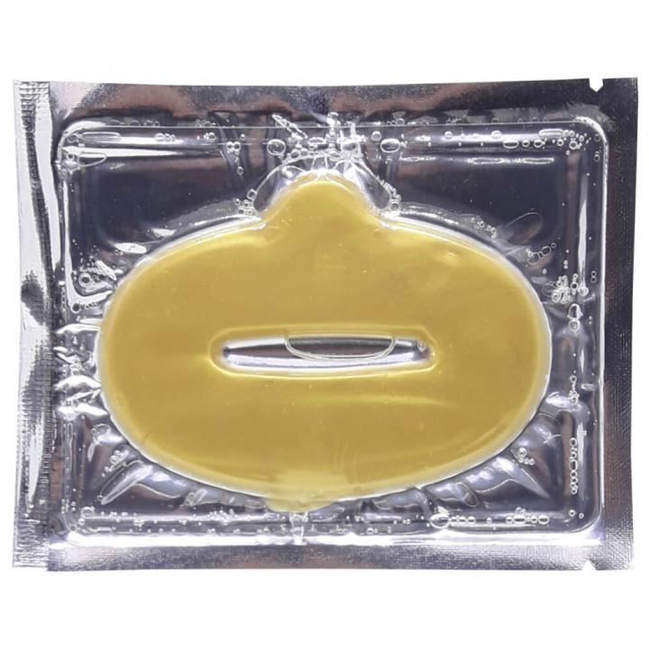 Маска для губ Collagen золото