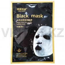 Очищающая тканевая маска Black Mask