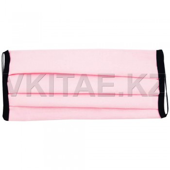 Маска многоразовая хлопок розовая