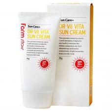 Солнцезащитный крем с витаминами от FarmStay