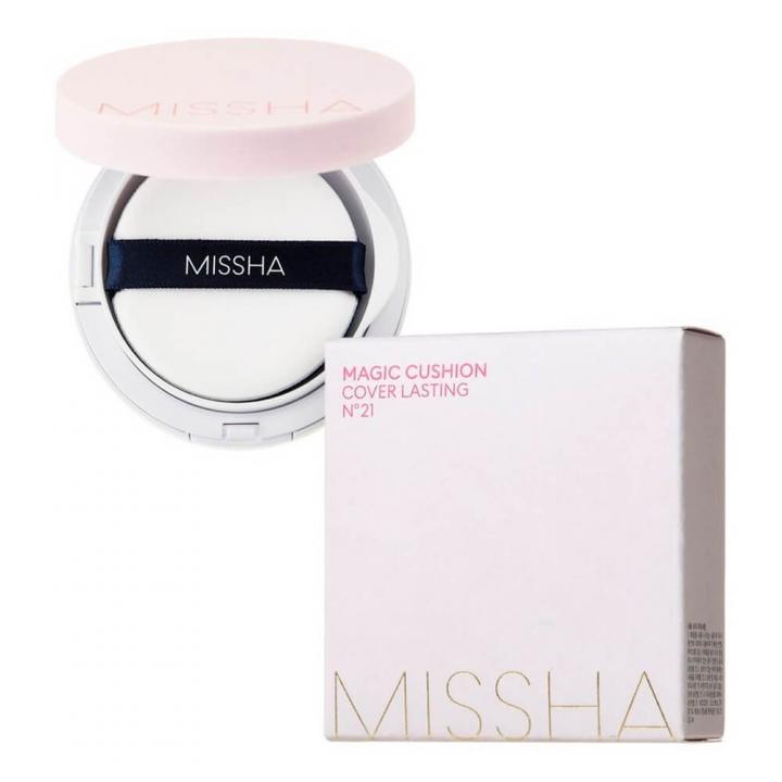 Кушон с светло-бежевым оттенком от Missha